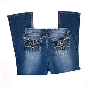 New Directions Weekend Bootcut Jeans Size 14